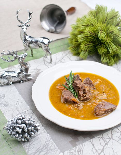 Původní recept je sice na jelení maso, využijete ho ale i pro srnčí; Greta Blumajerová