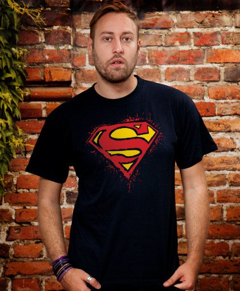 Superman tshirt Boyfriend gift Husband Gift Boyfriend by store365