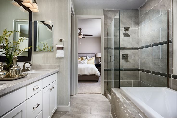 Is a relaxing tub on your must-have list? | Lance model home | Oakley, CA | Richmond American Homes