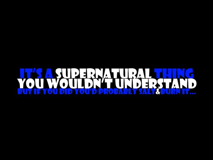 Best 25+ Supernatural Funny Quotes Ideas On Pinterest