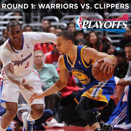 Round 1 Warriors vs Clippers NBA Playoffs 2014