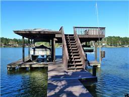 Unrestricted waterfront! 470 Little Creek Dr, Coldspring TX  77331