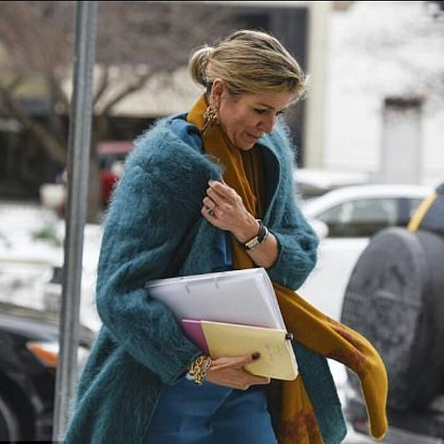 [15-3-2017]  Queen Máxima was in Washington yesterday for the UN       Koningin Máxima was in Washington gisteren voor de VN