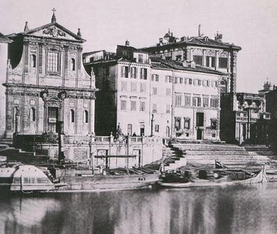 Porto di Ripetta 1865