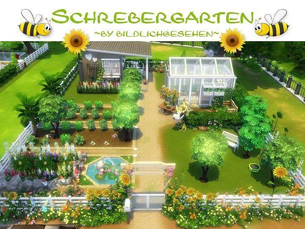 Sims 4: Schrebergarten | akisima sims blog