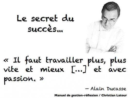 Travailler plus, plus vite et mieux, et avec passion - les ingrédients du succès selon Alain Ducasse... - La Revue HRI : HOTELS, RESTAURANTS et INSTITUTIONS