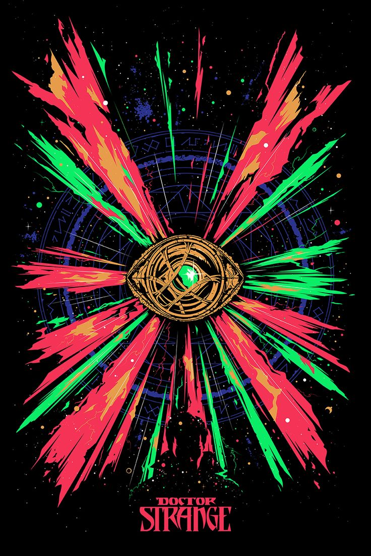 Doctor Strange Poster - Created by Oli Riches