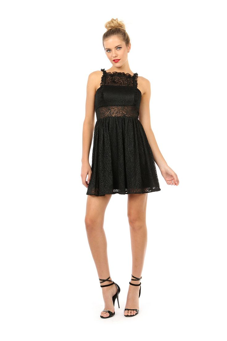 JOHANNESBURG FIT AND FLARE DRESS from Jay Godfrey