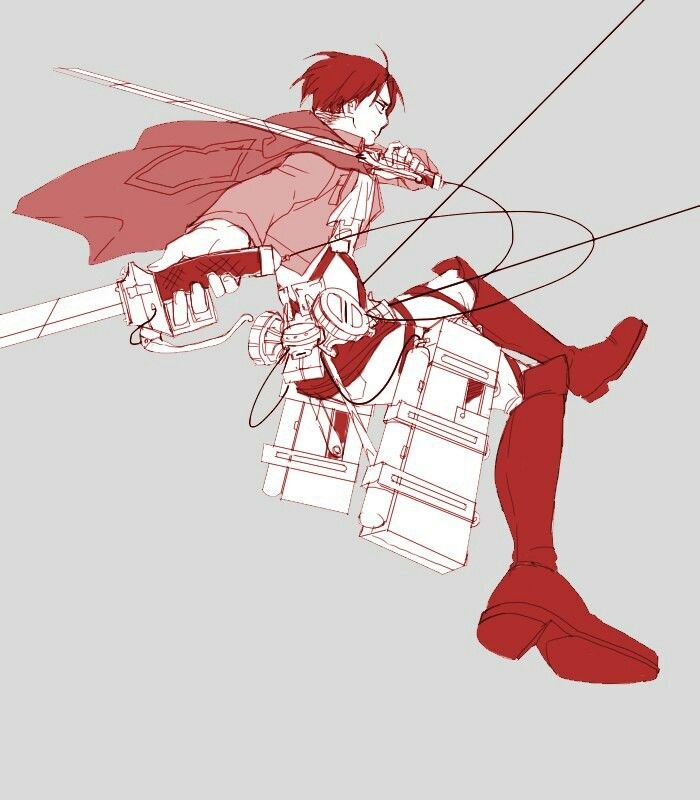 #Snk Levi /red/