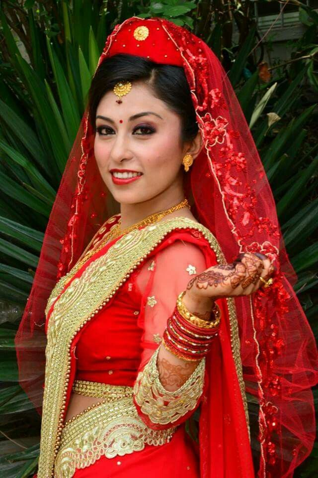 1000 images about cultural on pinterest wedding bride for Wedding dress nepali culture