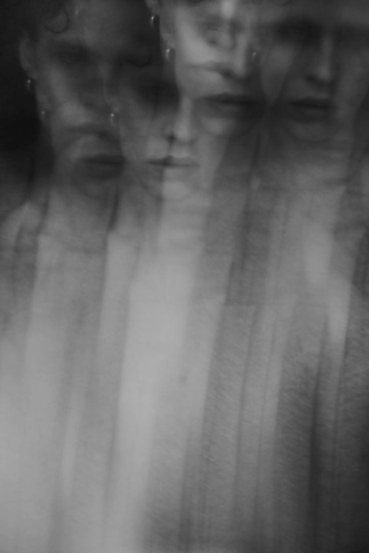 by Fanny Latour-Lambert | ghostly | mystic | spooky | eerie | black & white | ghost lady | the dark side | darkness | www.republicofyou.com.au