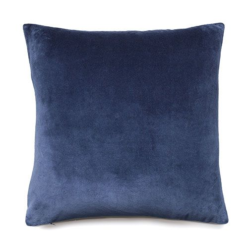 Bombay Navy Velvet Cushion