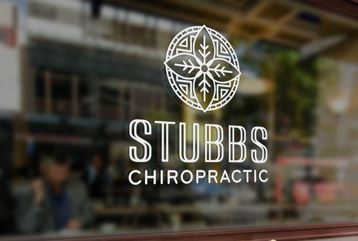 Stubbs Chiropractic Logo Design • AD Aesthetic