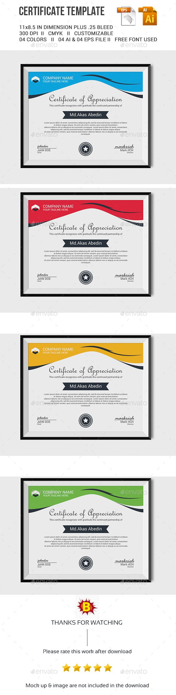 90 best certificate images on pinterest preschool award certificate template alramifo Image collections