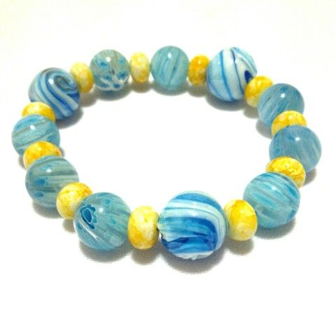 #gelang #bracelet #armcandy #jewelry #accessory #handmade #glassbead