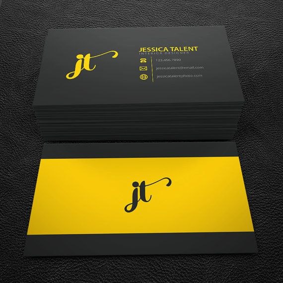 381 best cartes de visite images on pinterest carte de visite premade business card design print ready by brandileadesigns reheart Images