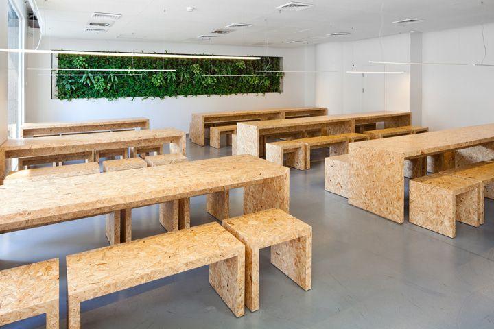 les 12 meilleures images du tableau osb sur pinterest bois chambres et espaces. Black Bedroom Furniture Sets. Home Design Ideas