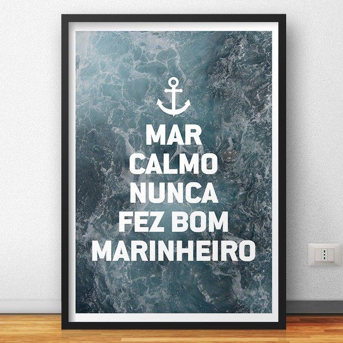 Quadro Mar Calmo | Fábrica9