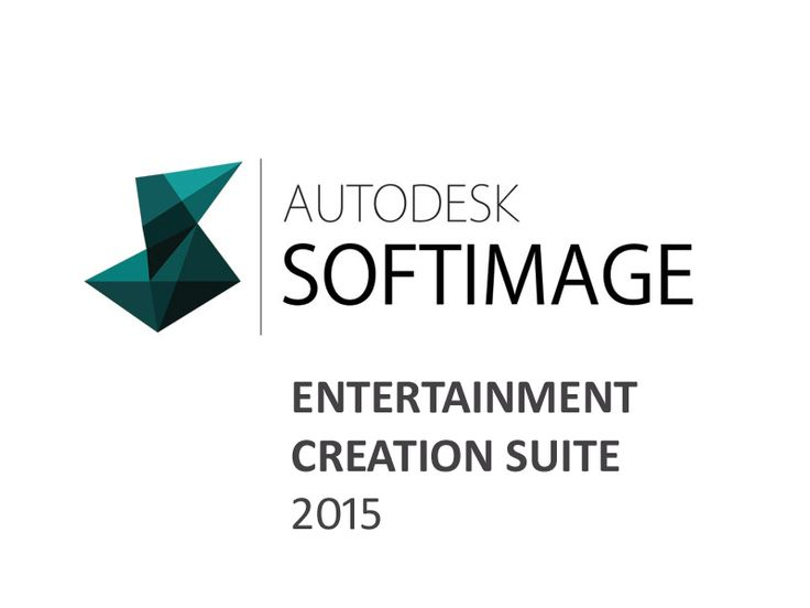 Softimage Entertainment Creation Suite 2015 Free Download. It helps to sleek the 3D animations with ...