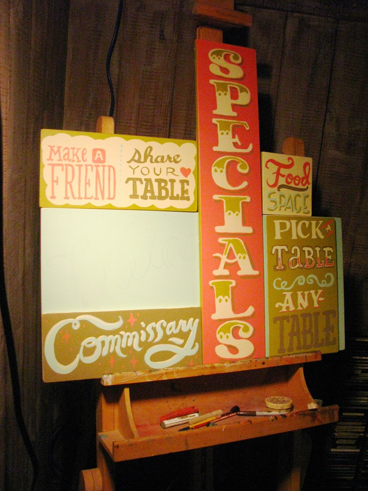 my pal arley is a brilliant sign painter