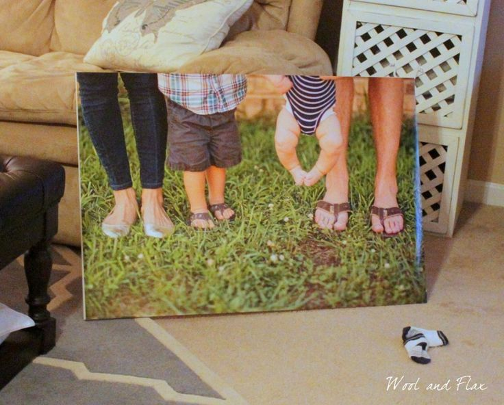 DIY Canvas Picture - With actual picture