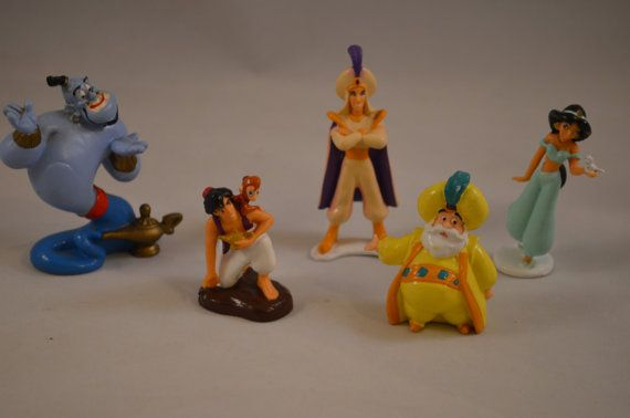 Vintage Aladdin Some Bullyland PVC Action by FloridaFindersToys