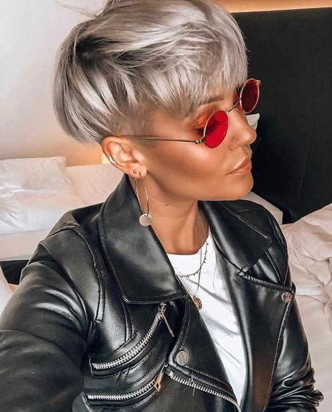 Short Hairstyles For Fine Hair Are Wonderful Inspirations For 2019 -  #Hair #Hairstyles #shortfinehair #shorthair #shorthairstyle - Trendy Hairstyles - Hairstyles 2019 #shorthairstylesforthickhair