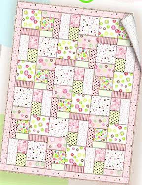 Essential Flannel Baby Quilt – Free PDF Pattern + The Self Binding Receiving…