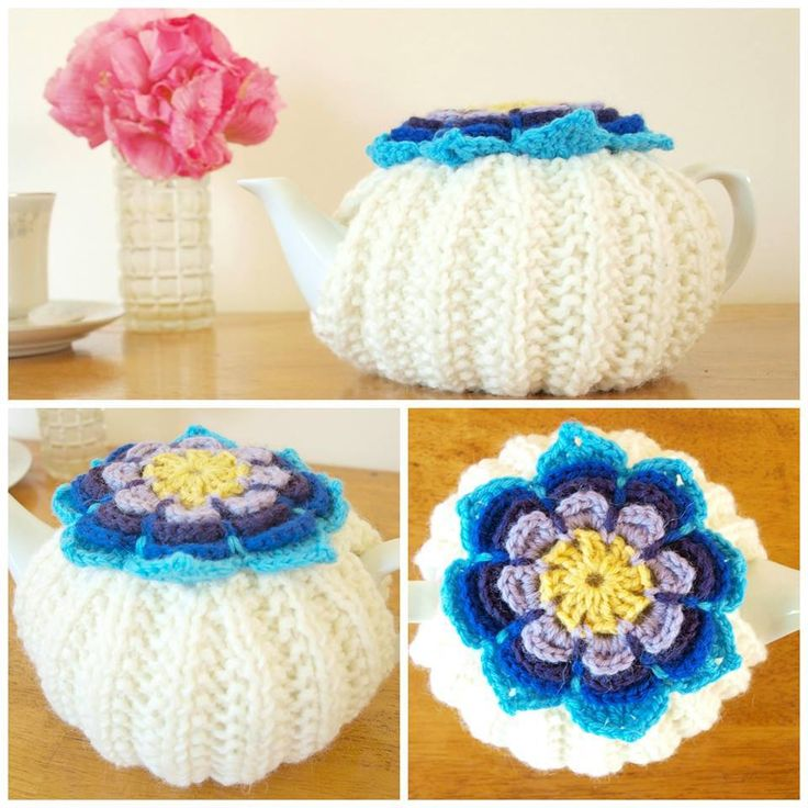 Handmade by Teapot Therapy Retro Flower Tea Cosy