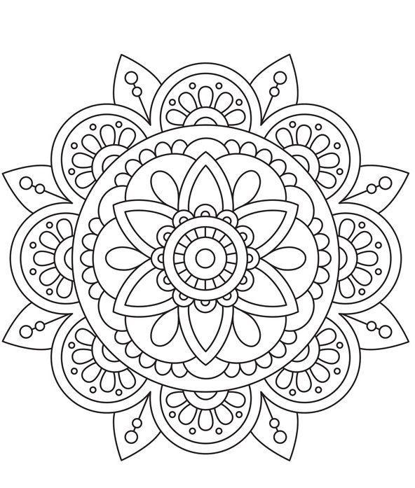 Pin By Sara Beth Lyon On Printables Mandala Coloring Pages Mandala Design Pattern Mandala Design Art