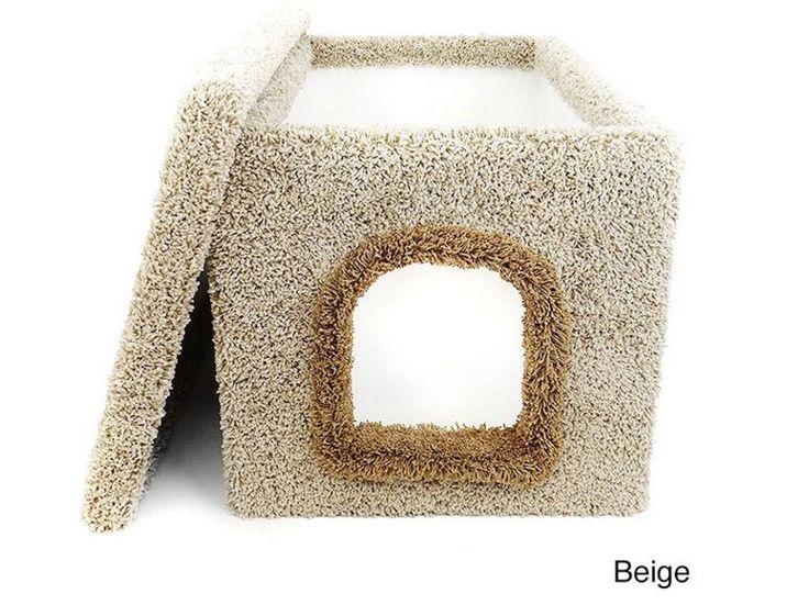 Hidden Cat Litter Box Furniture Enclosed Kitten Pet Supplies Boxes NEW #CatCondo