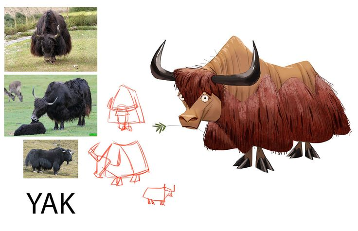 Character Design For Animation Course : Best animal farm yak images on pinterest art yarn
