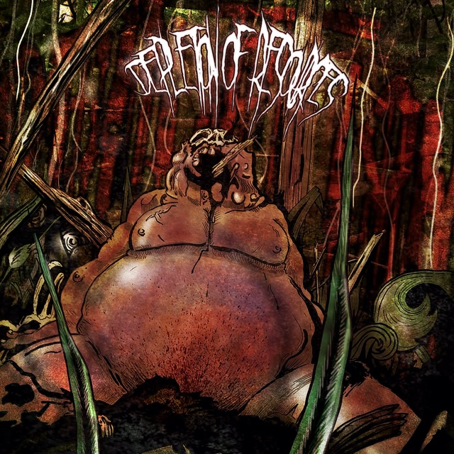 Depletion of resources. Death metal album cover by @stormstudio