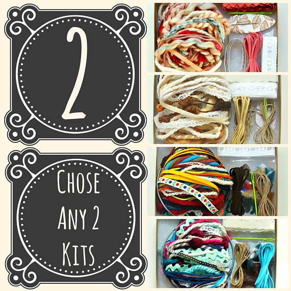 Choose Any 2 DIY Dream Catcher Kits. Do it Yourself Craft Kit