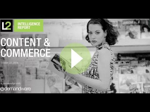 Content and Commerce 2014 | L2: Business Intelligence for Digital