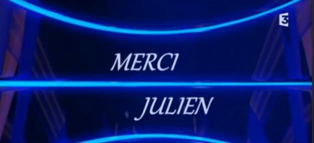 France 3 a diffusé un hommage surprise à Julien Lepers, à la fin de sa dernière, aujourd'hui à 18h45 ! Regardez