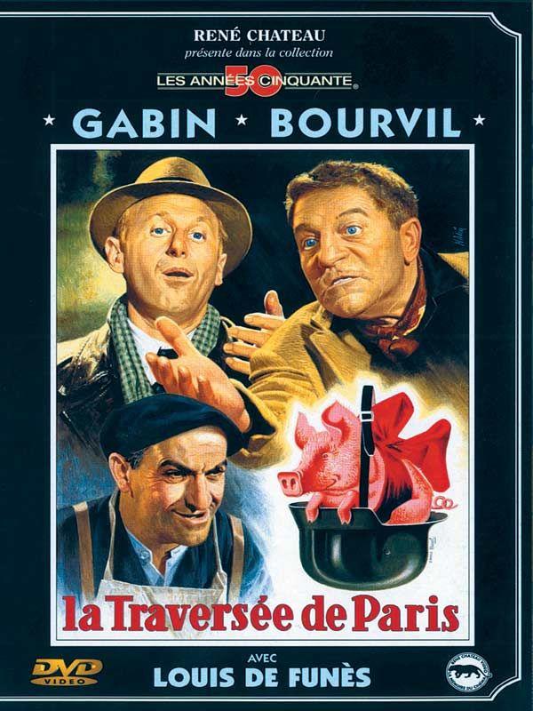 La Traversée de Paris 1956 ‧ La Traversée de Paris est un film franco-italien, réalisé par Claude Autant-Lara, sorti en 1956. Il est inspiré de la nouvelle de Marcel Aymé, Traversée de Paris, parue en 1947 dans le recueil Le Vin de Paris.