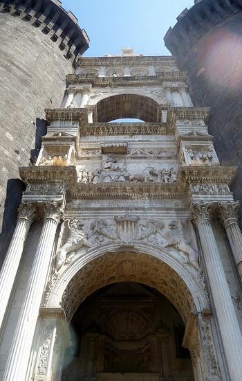 Maschio Angioino- Napoli, province of Naples , Campania region Italy