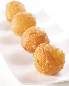 I'm so making these! Gruyere & Parmesan Beignets. #Yum! This delicious beignet recipe is courtesy of chef April Bloomfield.