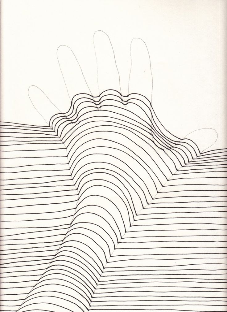 The Creative Spirit: Op Art Hands That POP!