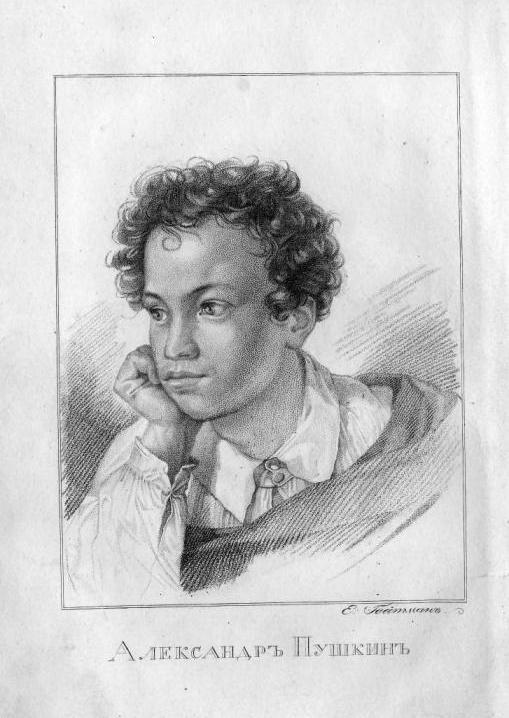рисунки которые написал пушкин увидите, как