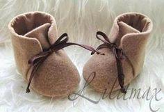 Kerajinan Tangan: Cara Membuat Kerajinan Tangan Dari Kain Flanel | Kreasi Sepatu Bayi