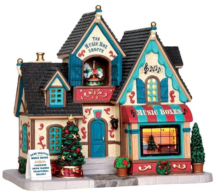 110 best Christmas Village images on Pinterest | Christmas ...