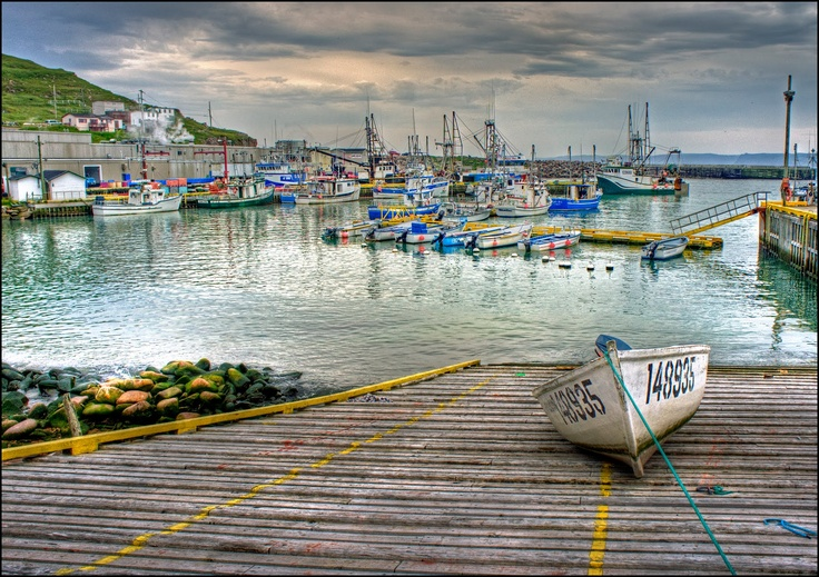 Bay de Verde Harbour, Newfoundland