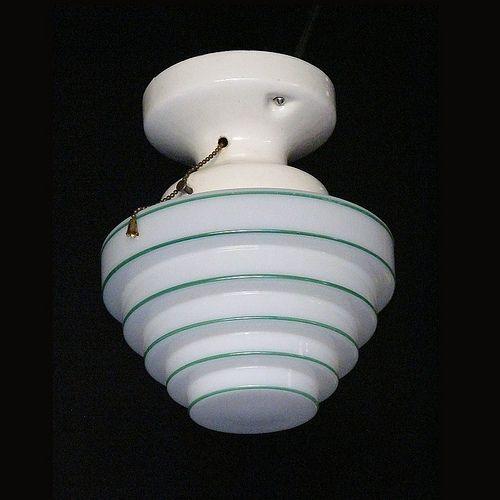 Beehive Light Fixture: Pin By VintageLights.com On Art Deco