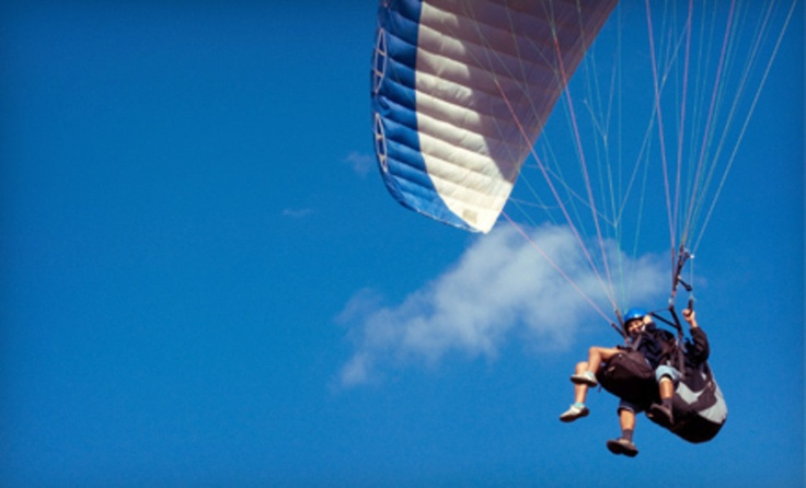 Groupon - 15-, 30-, or 60-Minute Tandem Power-Paragliding Session from East Coast PPG (Half Off) . Groupon deal price: $75.00