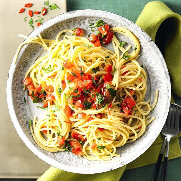 Spaghetti aglio e olio | Weight Watchers België