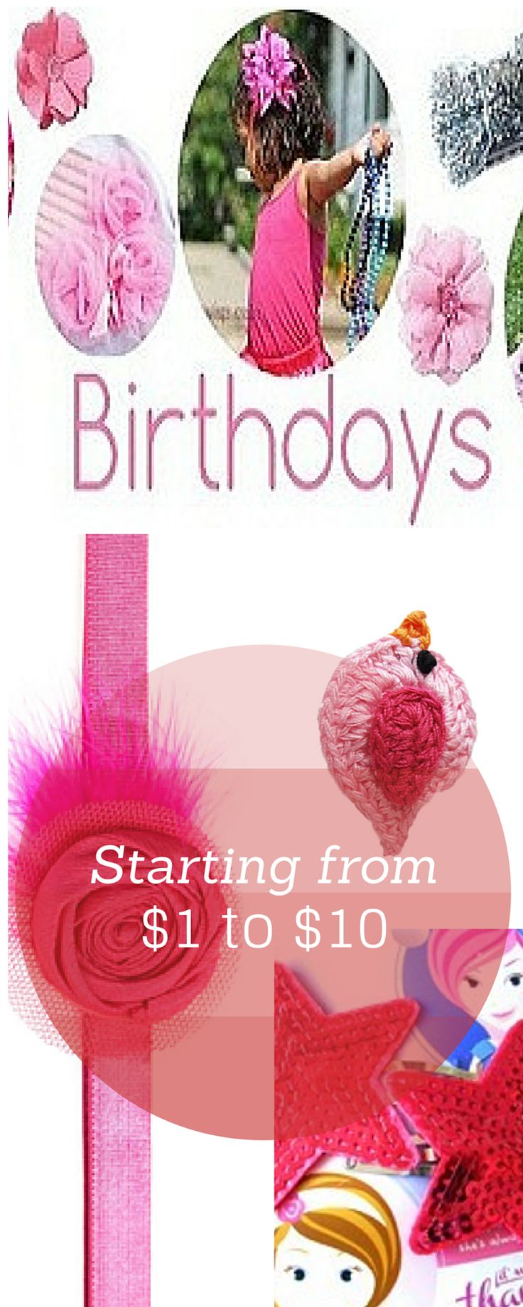 First Birthdays are always a special time! Getting to celebrate in style is the best gift for your little girl! Looking for a birthday gift for your baby girl or friends and family? This whole section has a selection of our favourite clips and accessories for birthday outfits, photoshoots and gifts! #babywisp #babybirthdaygifts #babygifts