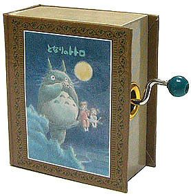 TOTORO Music box Studio Ghibli from JAPAN in Collectibles | eBay