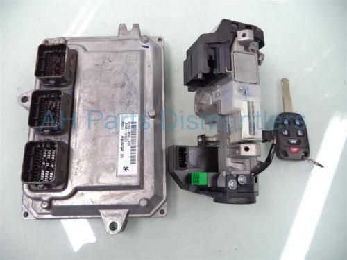 Used 2011 Honda Odyssey ECU WITH IGNITION AND KEY  37820-RV0-A55 37820RV0A55. Purchase from https://ahparts.com/buy-used/2011-Honda-Odyssey-Engine-Control-module-computer-ECU-WITH-IGNITION-AND-KEY-37820-RV0-A55-37820RV0A55/85081-1?utm_source=pinterest